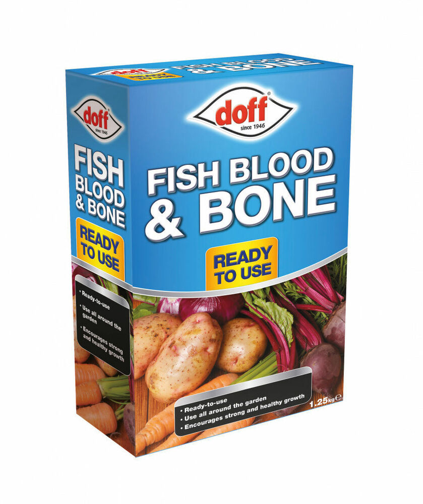 Doff Fish Blood And Bone 1.25kg