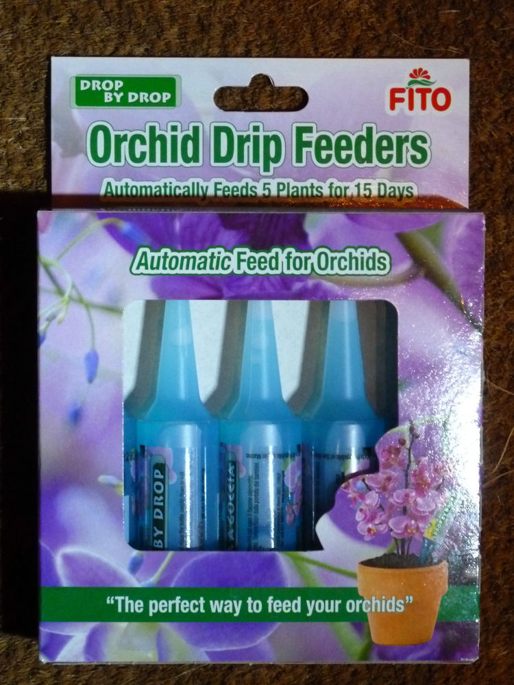 FITO ORCHID DRIP FEEDERS DROP BY DROP PACK OF 5 X 32ML TOTAL