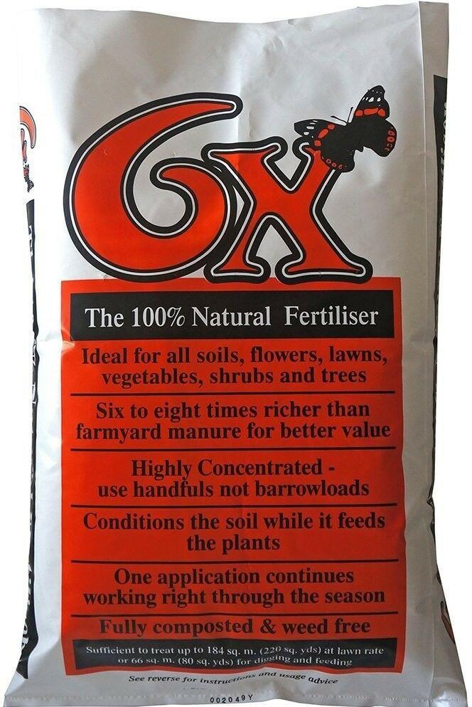 Organic Fertilizer Bag Organico 6 X Organic Fibrous