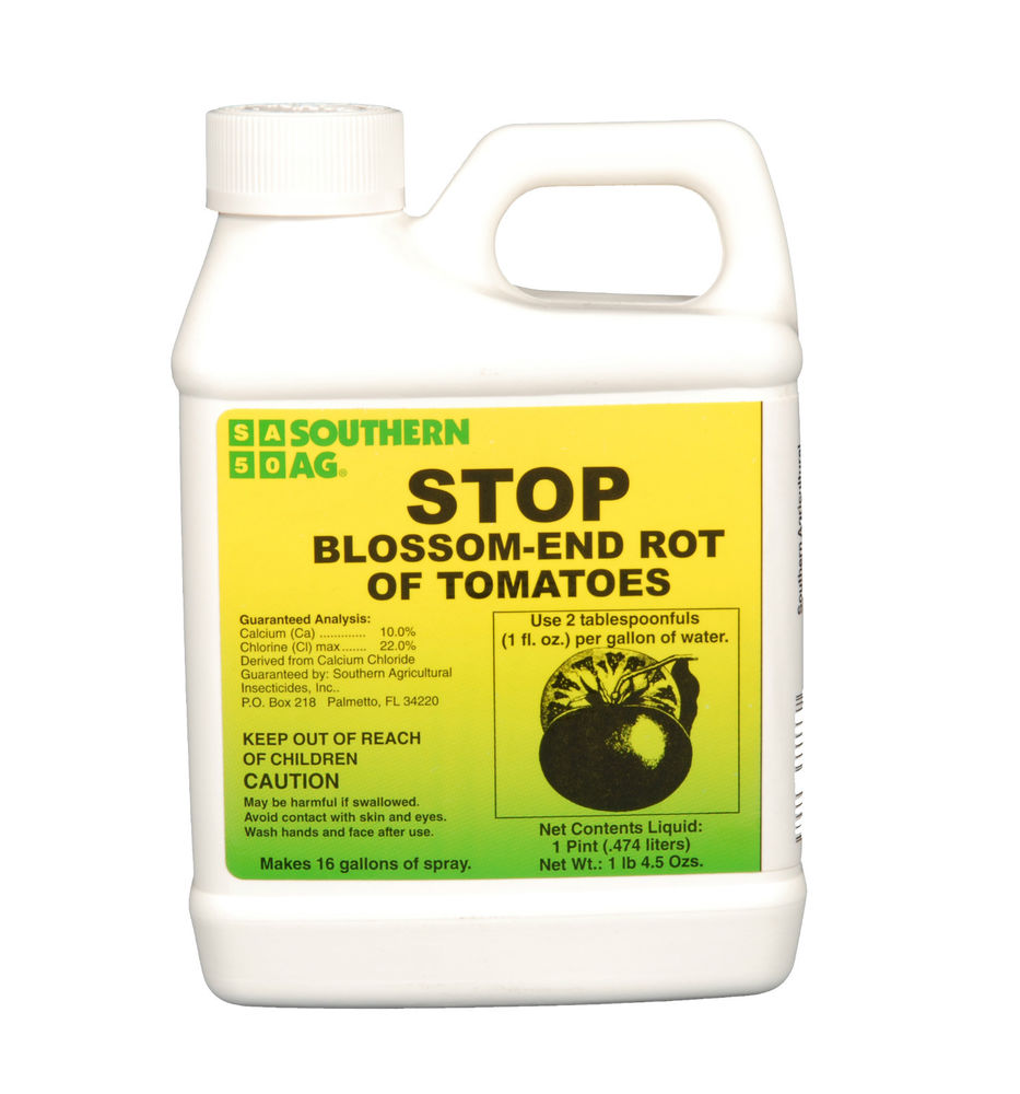 STOP Blossom End Rot of Tomatoes 16 oz. Pint Calcium
