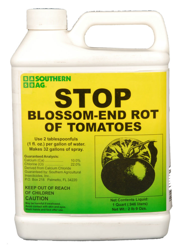 STOP Blossom End Rot of Tomatoes 32 oz. Quart Calcium