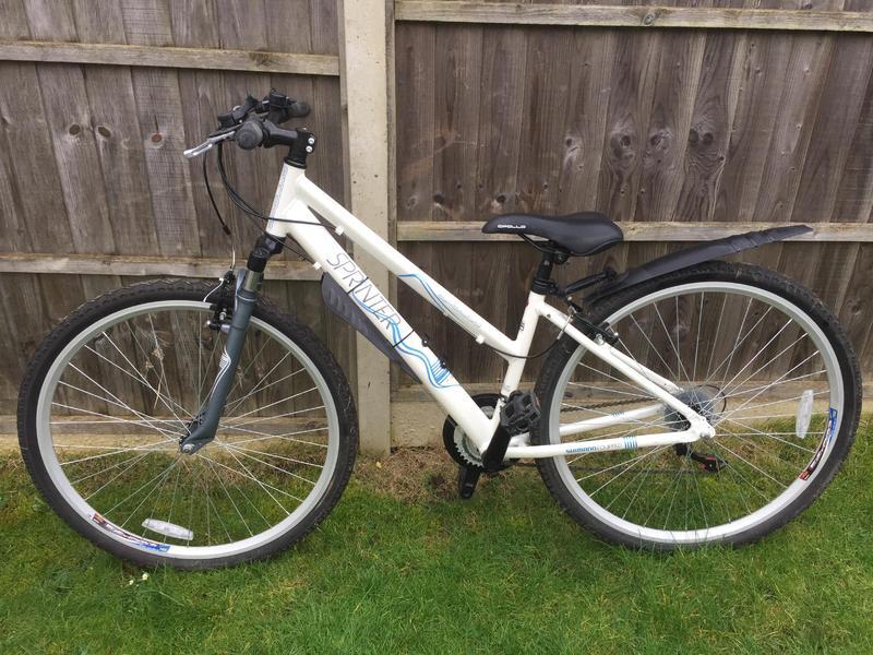 Ladies hybrid mountain bike as NEW