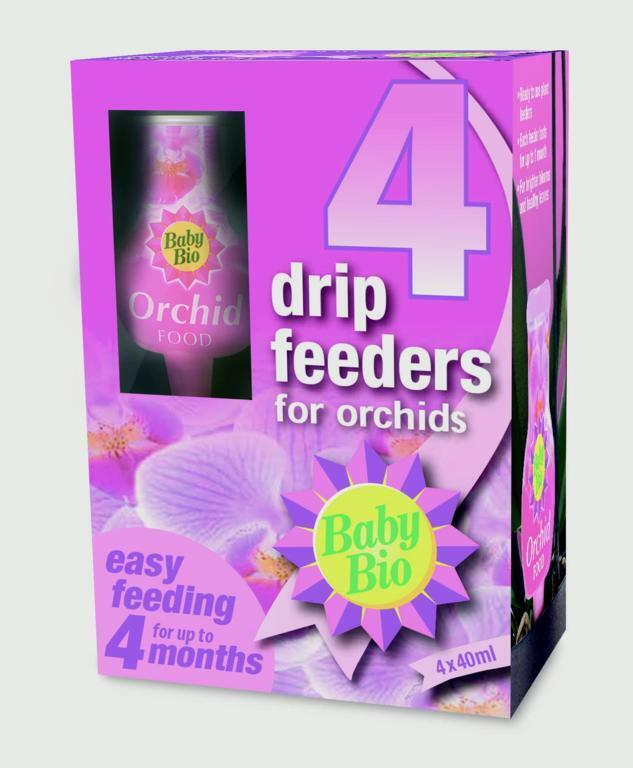 Baby Bio Orchid Drip Feeders 4 x 40ml