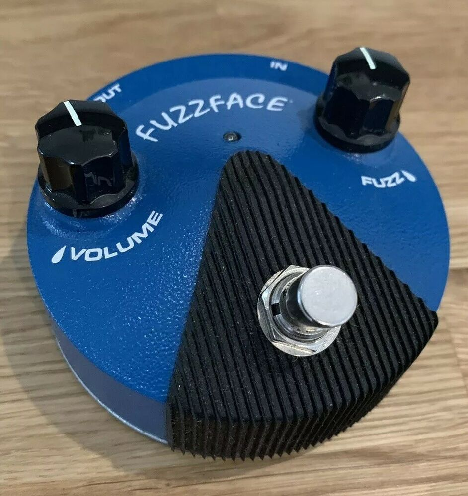 Jim Dunlop Silicon Fuzz Face Mini FFM1 Guitar Effects Pedal