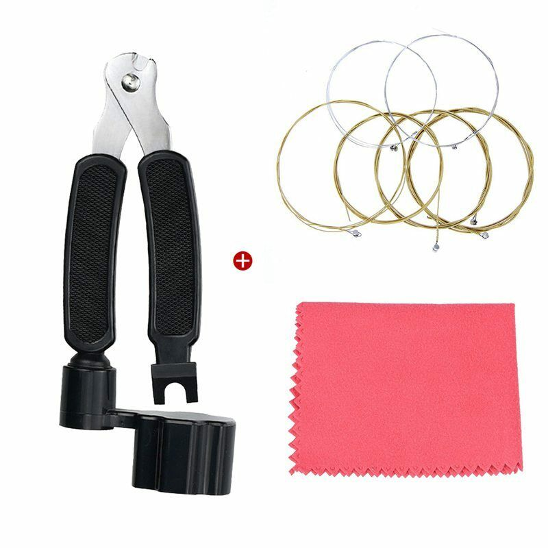 String Winder Cutter Pin Puller 3 in 1 with Guitar Strings