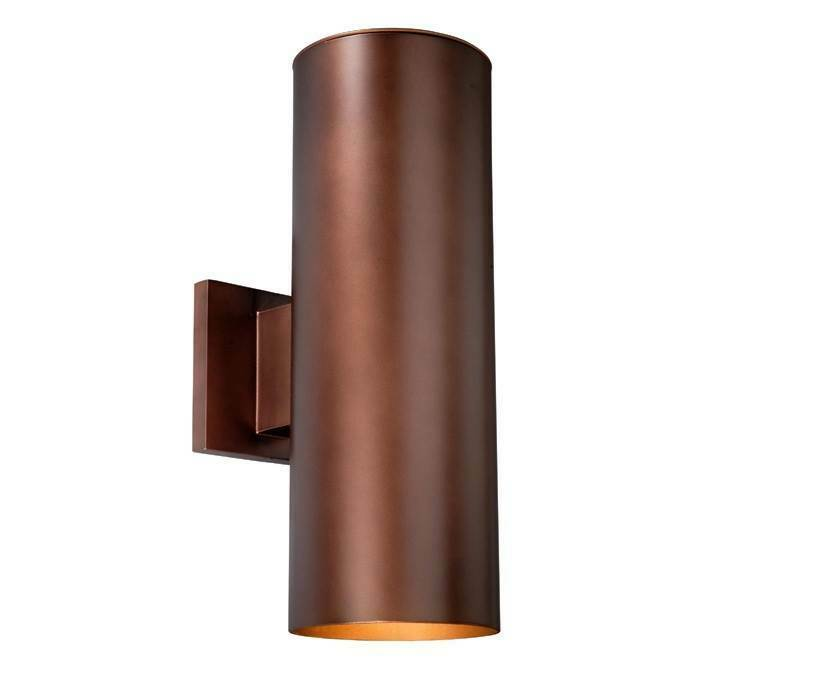 Chiasso Bronze  in. Outdoor Wall Light [ID ]