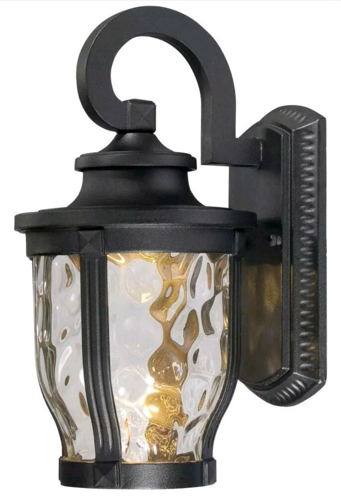 Minka-Lavery -L Merrimack LED 12 inch Black Outdoor