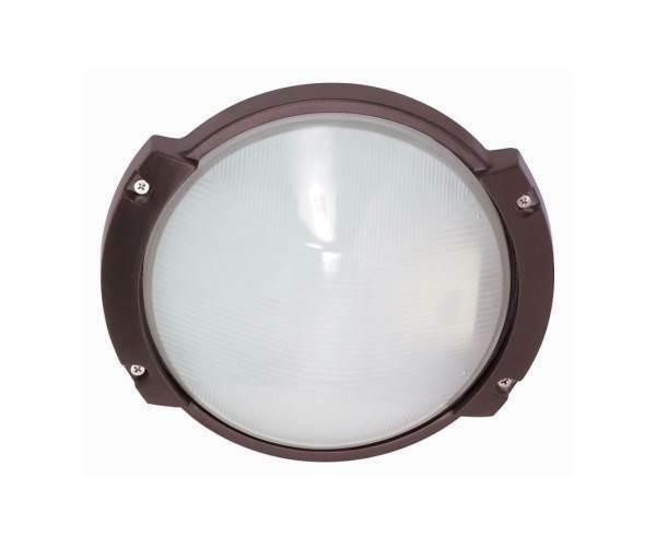 Outdoor - 1 Light - 11 in. Oblong Round Bulk Head [ID