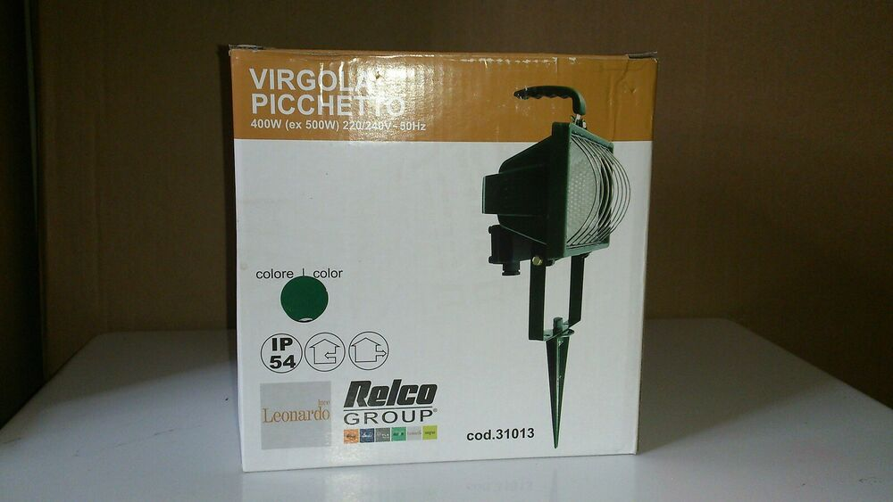 Outdoor Floodlight On Spike/ wall mounted 120W IP54 GREEN