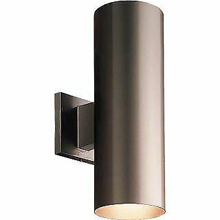 Progress Lighting P Cylinder 2 Light Outdoor Wall