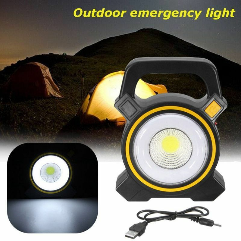 Rechargeable 30W COB LED Portable Flood Light| Outdoor