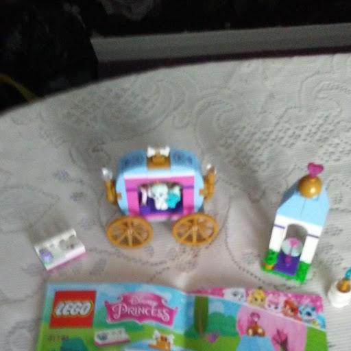 disney princess lego set complete with instructions no box