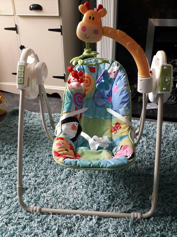 Fisher-Price Rainforest swinging chair