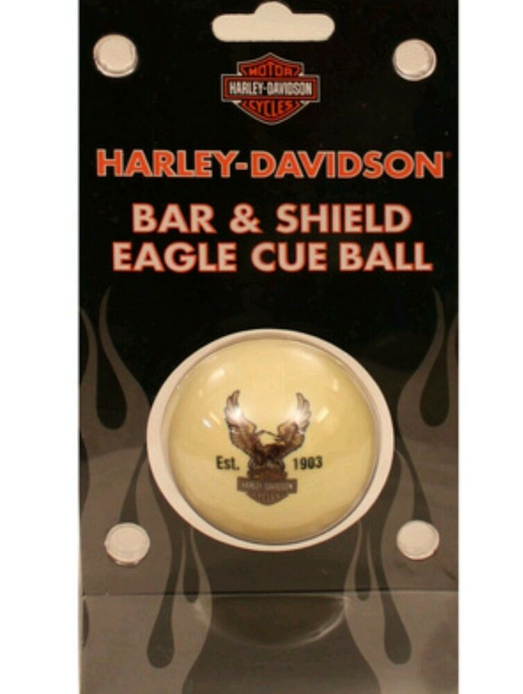 Genuine Harley-Davidso n Motor Cycles Bar & Shield Eagle Cue