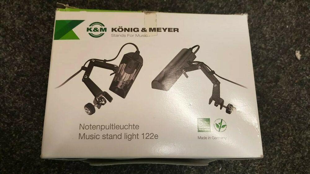 Konig and Meyer 122E Mains Powered Music Stand Light
