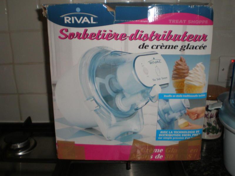 Rival Soft Serve Ice Cream Maker
