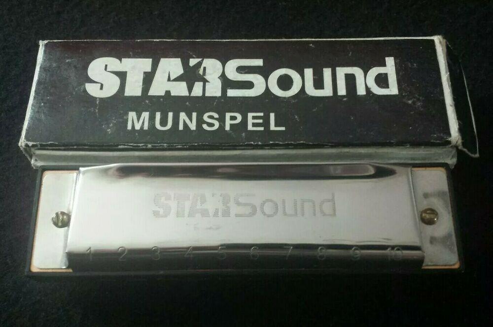 Stars sound Harmonica mouth organ musical instrument busker