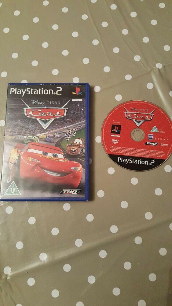 * Sony Playstation 2 Game * DISNEY PIXAR CARS * PS2 N