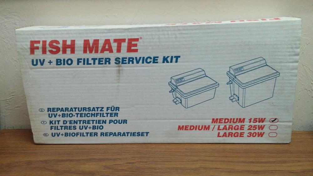 FishMate 15 Watt UV Bio Filter Service Kit For Pond