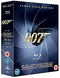 James Bond Blu-Ray Collection Vol.1 (Blu-ray, -Disc