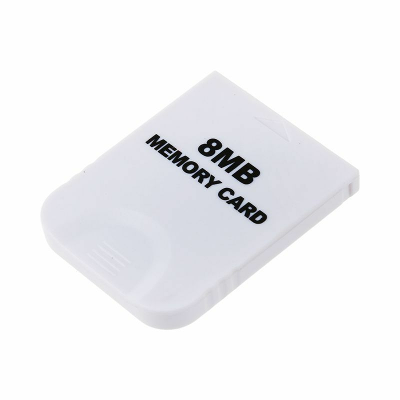 3X(8 MB Memory Card for Wii GC Gamecube F5W6
