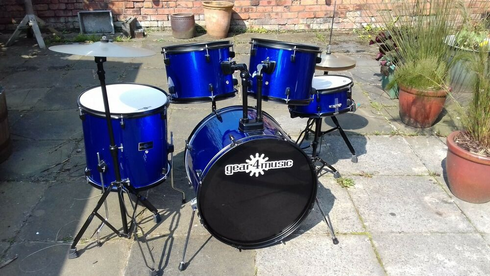 Gear4music BDK-1 Full Size Starter Drum Kit - with
