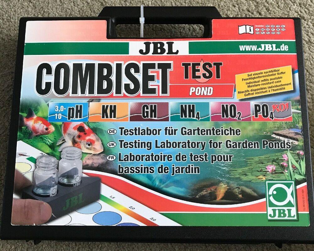 JBL Water Test Combiset Pond Testing Kit for Garden Ponds
