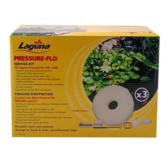 Laguna Pressure-Flo Service Kit  UV Bulbs & Foams