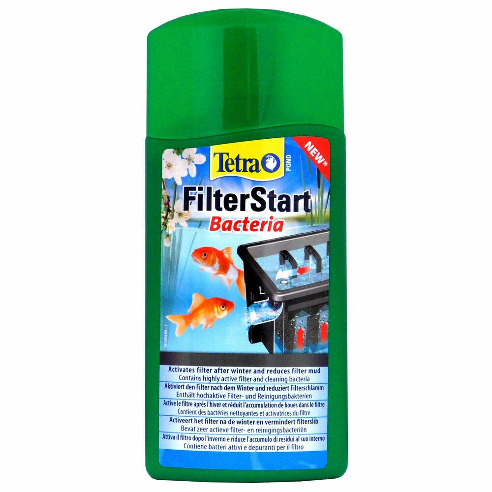 Tetra FilterStart Bacteria 500ml Clean Activate Pond Filter