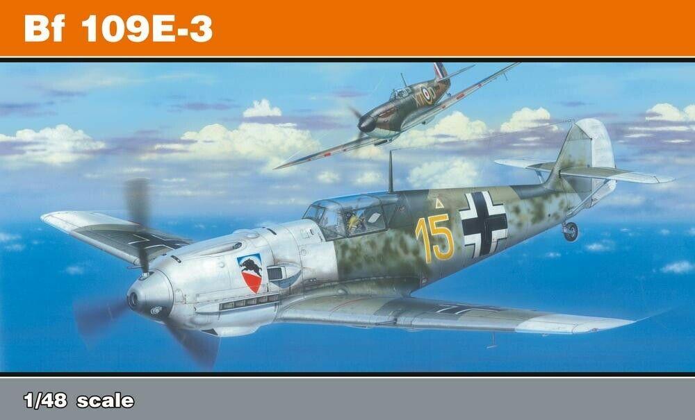 EDK - Eduard Kit 1:48 Profipack - Bf 109E-3 Re-Edition