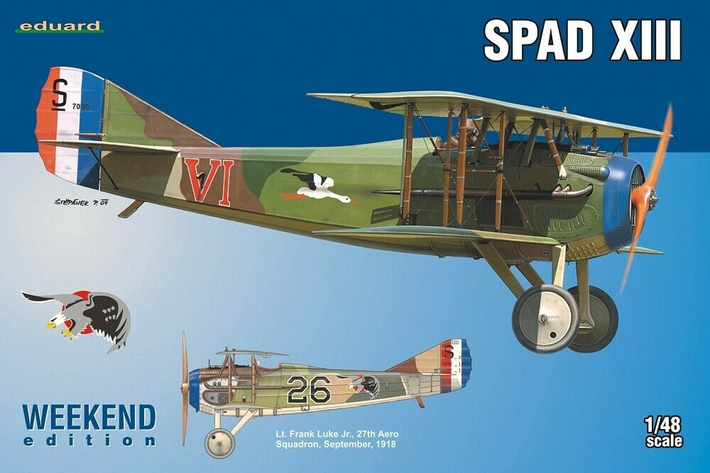 EDK - Eduard Kit 1:48 Weekend - Spad XIII