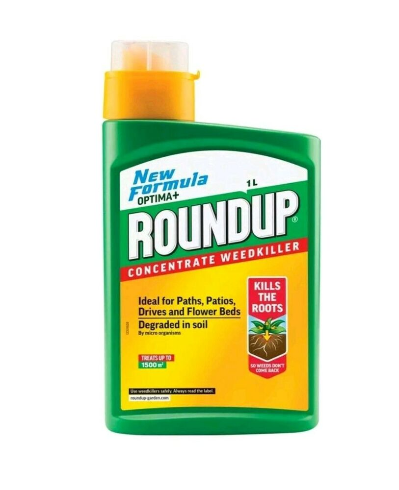 OPTIMA+ Roundup Concentrate Weedkillwr For Paths/Patios/D
