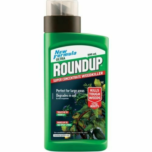 Round up Roundup Ultra Super Concentrate Weedkiller 500ml