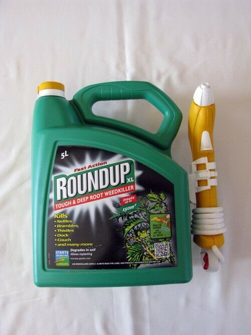 Roundup Fast Action Weedkiller Spray Ready To Use 5L
