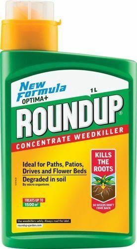 Roundup Optima+ Weedkiller Concentrate Bottle 1 L