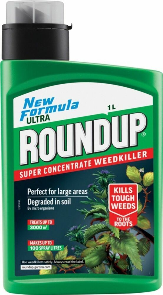 Roundup Ultra Concentrated Liquid Weedkiller ml