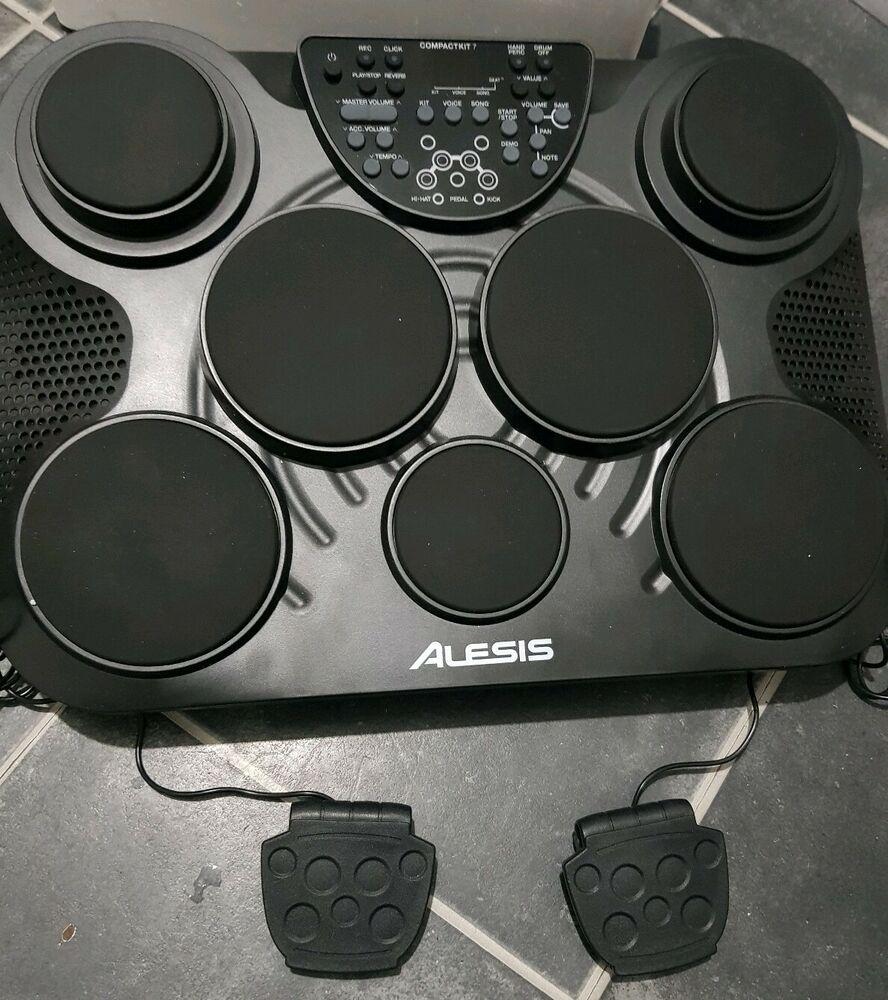 Alesis Compactkit7 Tabletop Electronic Portable Drum Kit
