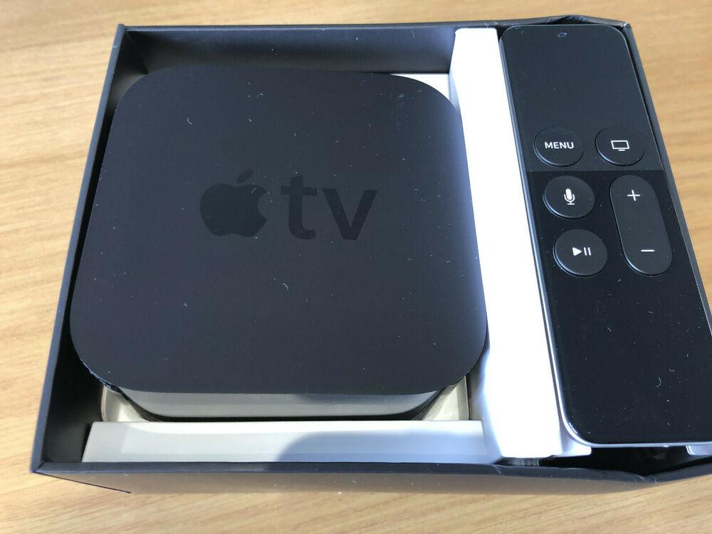 Apple TV 4th Generation Digital HD Media Streamer - Black