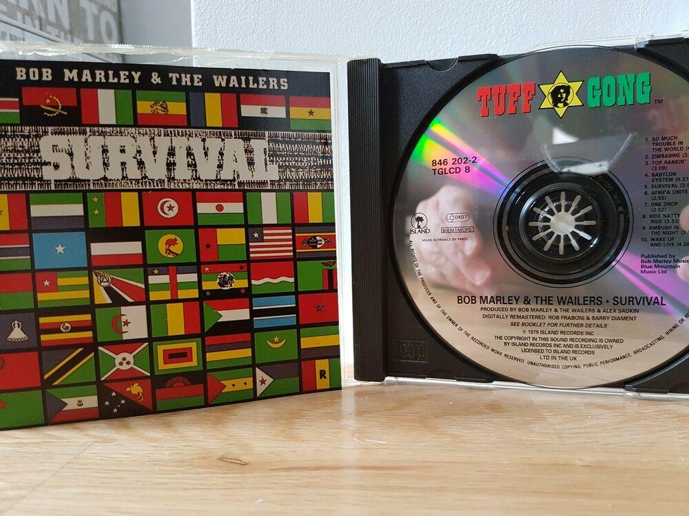 Bob Marley and the Wailers - Survival () cd