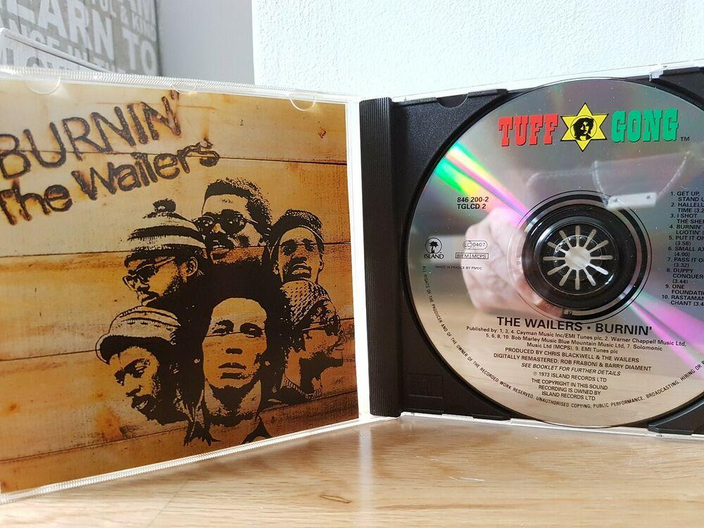 Burnin' by Bob Marley, The Wailers CD