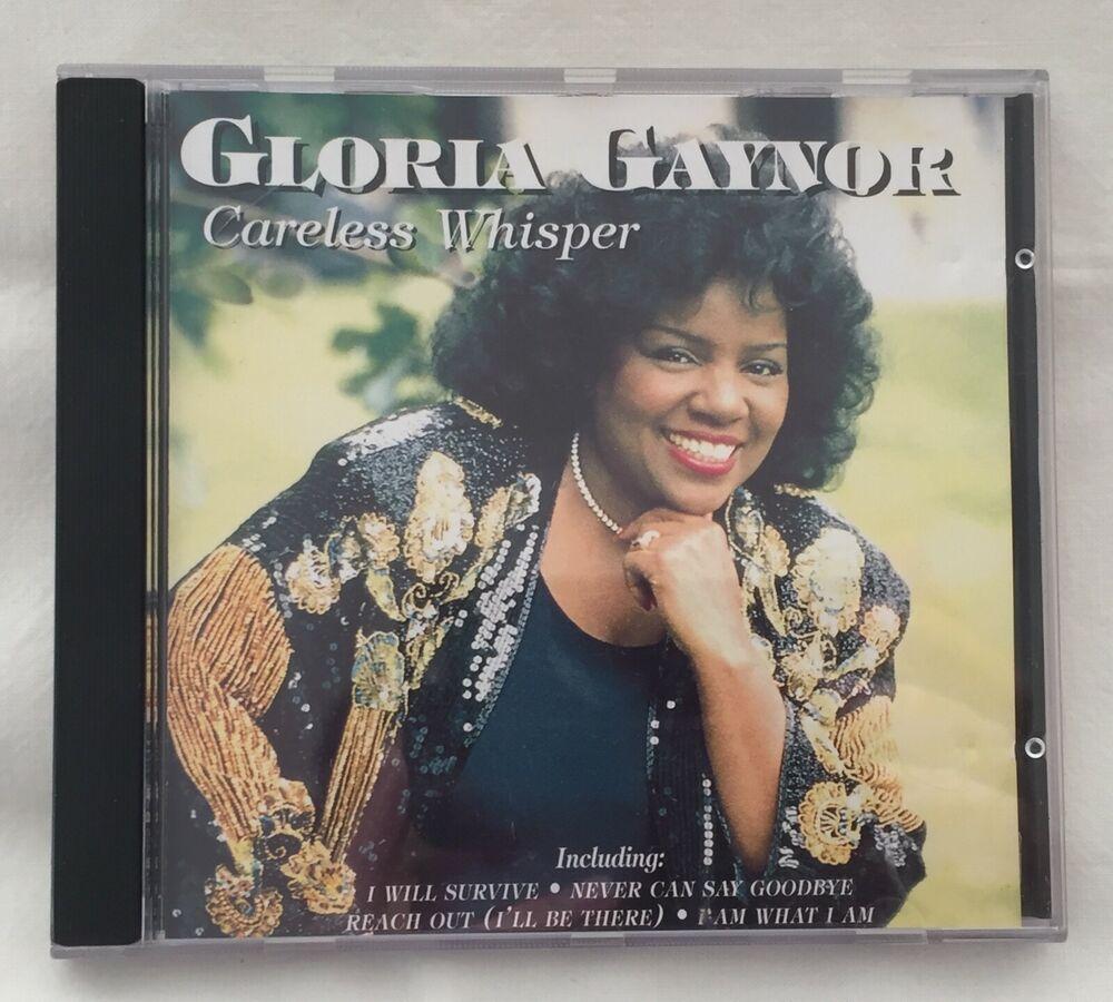 GLORIA GAYNOR – CARELESS WHISPER - CD ALBUM I Will Survive