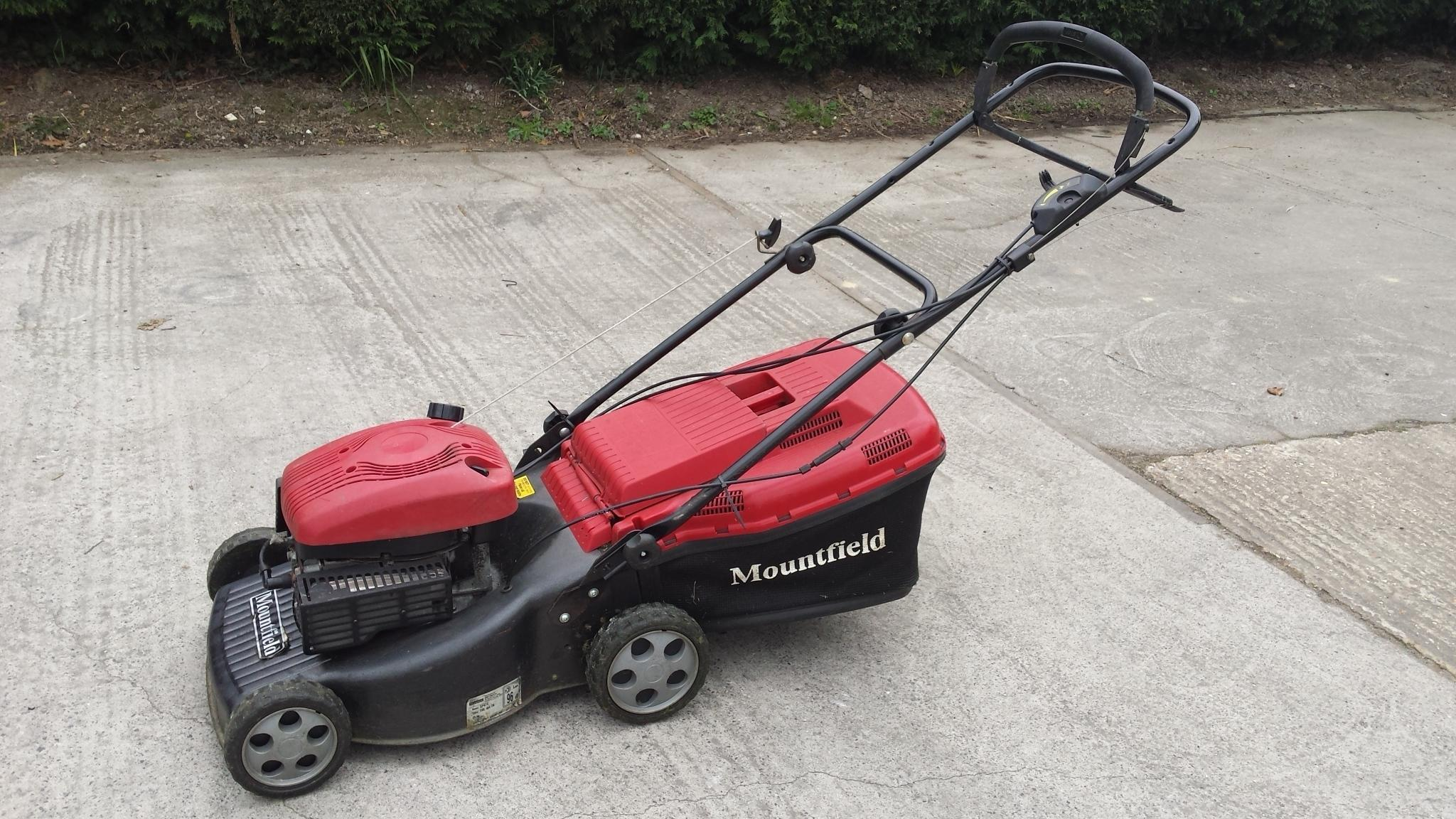 Mountfield self propelled petrol mower clean condition