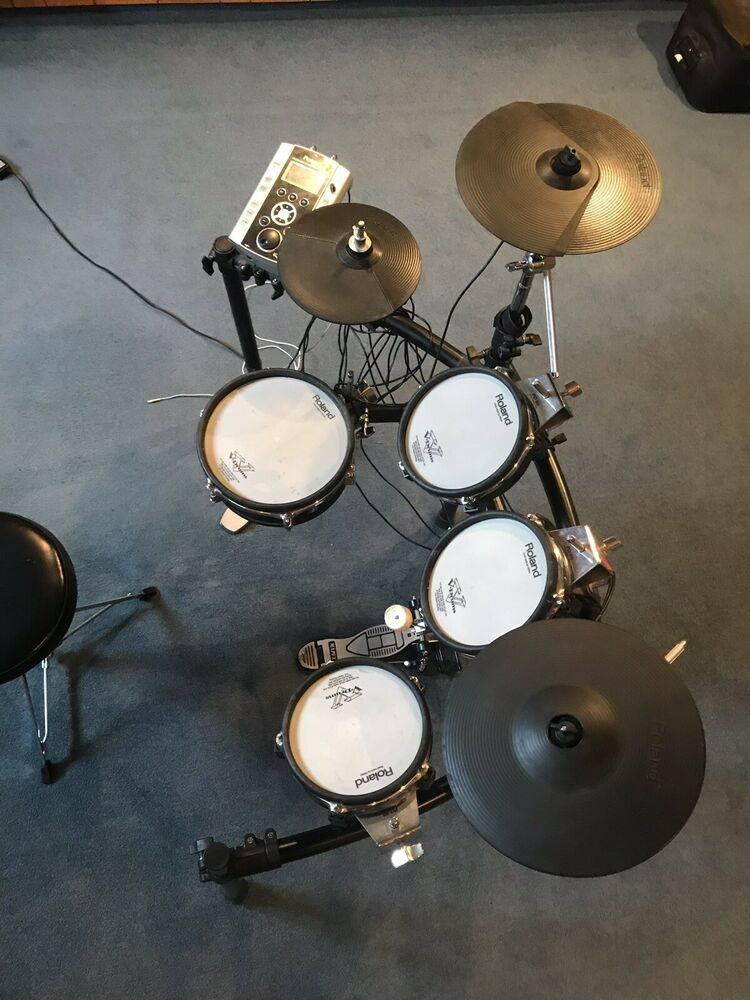 Roland TD-1K Electronic Drum Kit All Mesh Heads