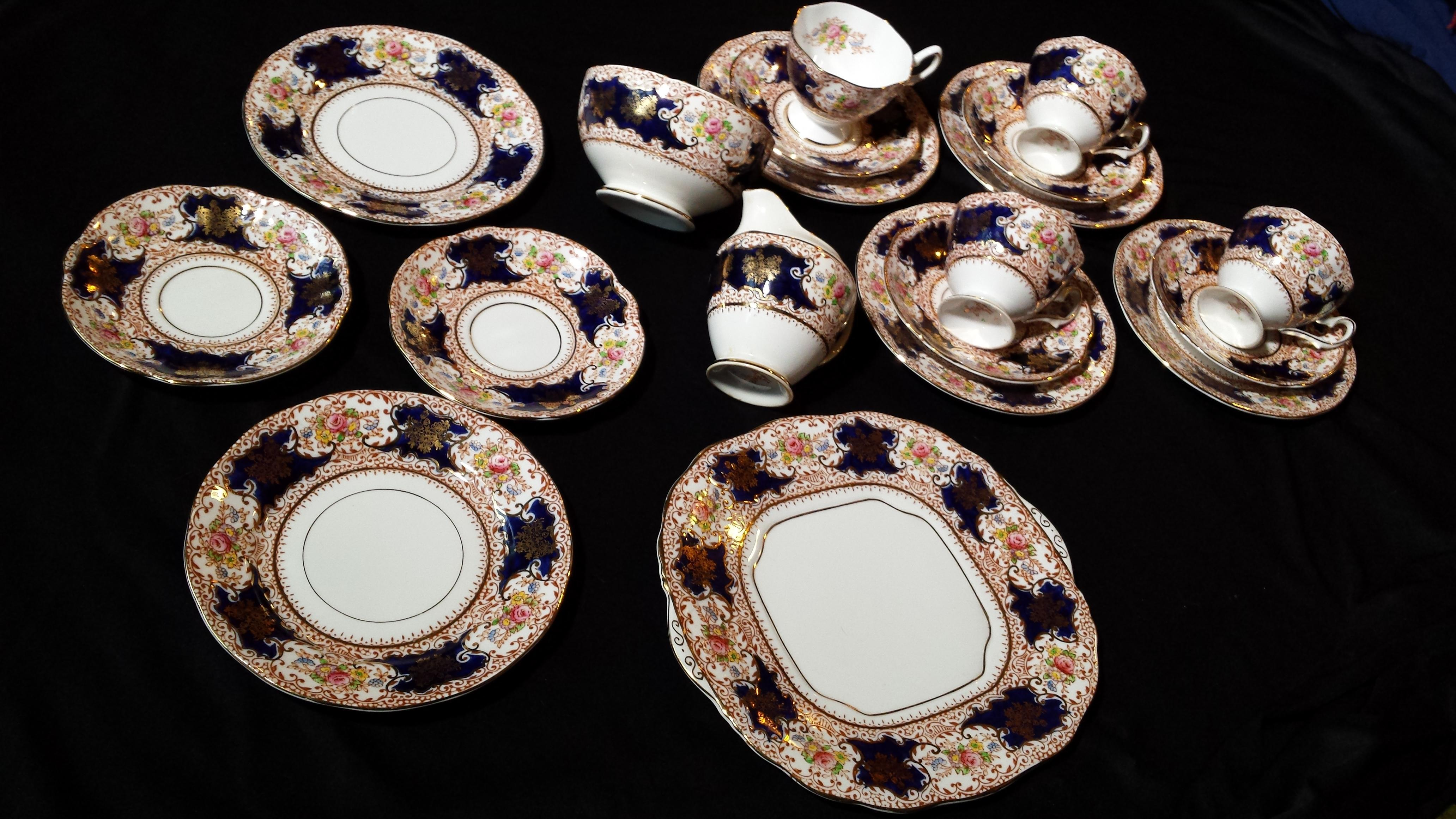 Vintage s Salisbury Fine Bone China Tea Set
