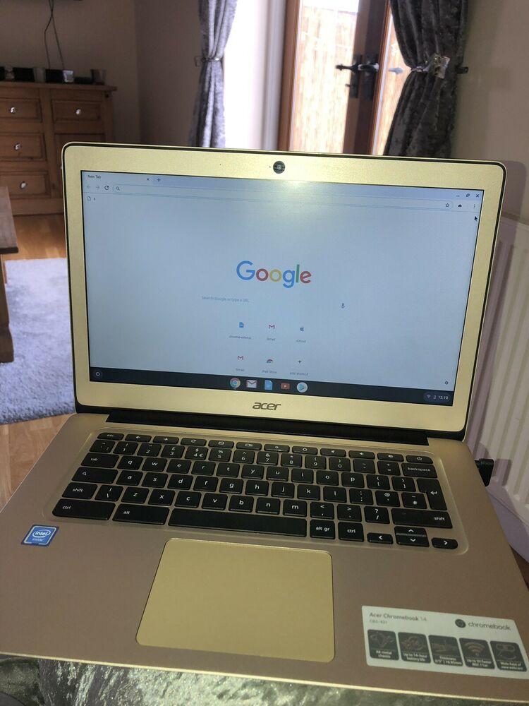 Acer Chromebook Intel Celeron 2gb RAM 32gb eMMC 14 Inch HD
