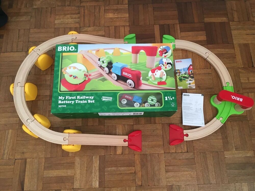 BRIO My First Railway Battery Operated Train Set . Used