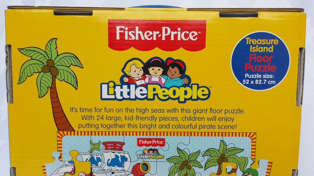 Fisher Price 24 Piece Little People Floor Jigsaw Puzzle,