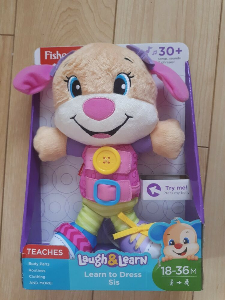 Fisher-Price Laugh And Learn Learn to dress Sis BN