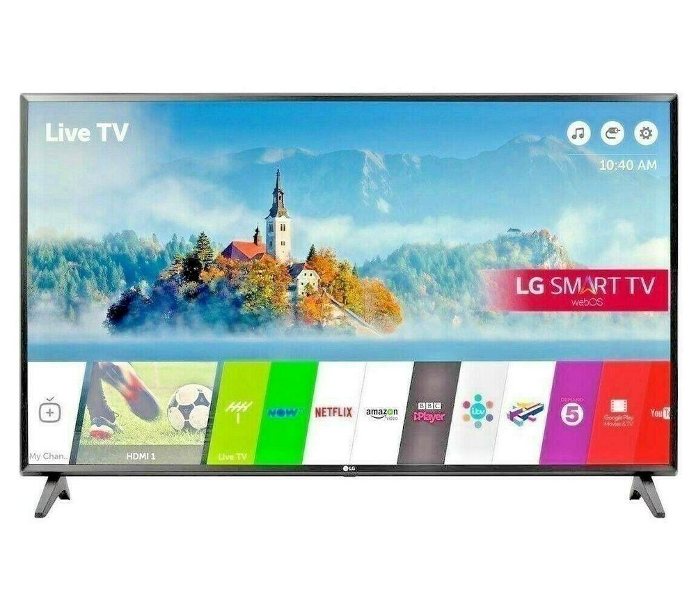 """LG 43LJ594V 43"""" Smart Full HD p LED TV Wi-Fi & Freeview"""