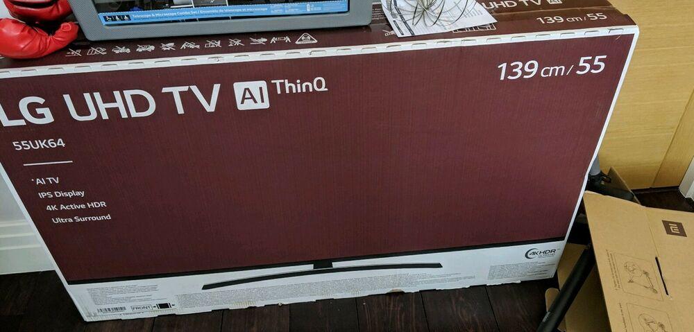 "LG 55UK Inch ULTRA HD 4K Smart TV 55"" 4K Display"
